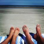 Feet at the Beach - Hilton Head