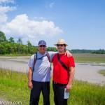 Adam with his dad - Hilton Head
